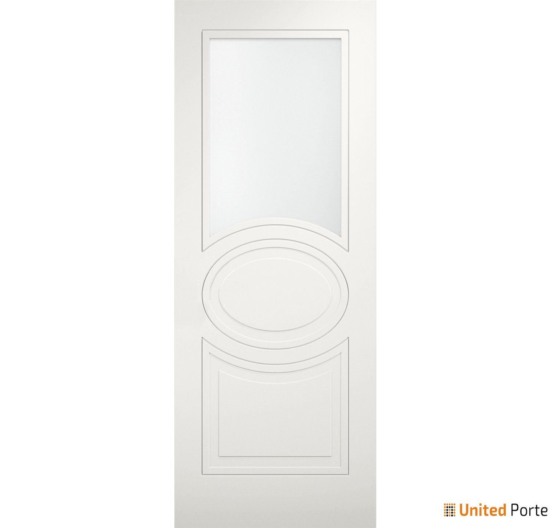 Mela 7012 Matte White Modern Barn Door Opaque Glass Slab   Solid Panel Interior Barn Doors